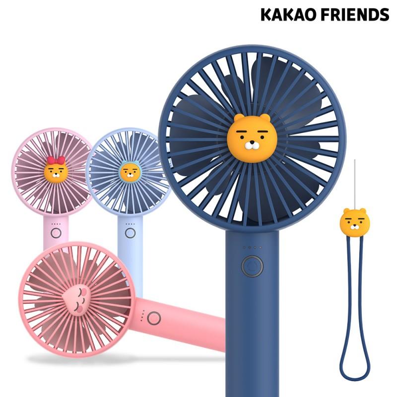 카카오프렌즈 썸머 데일리 실리콘 스트랩 선풍기