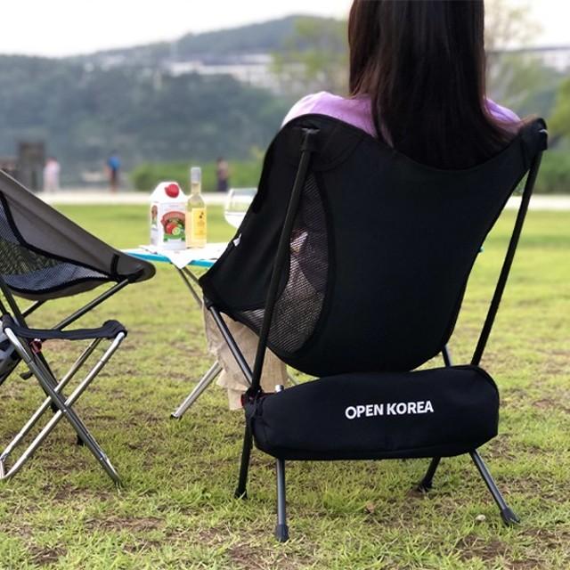 초경량 듀랄루민 캠핑의자(그레이)