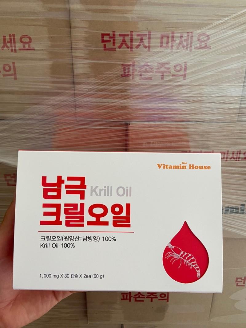 *영양제추천* (비타민하우스)남극크릴오일30캡슐 x 2ea  1세트