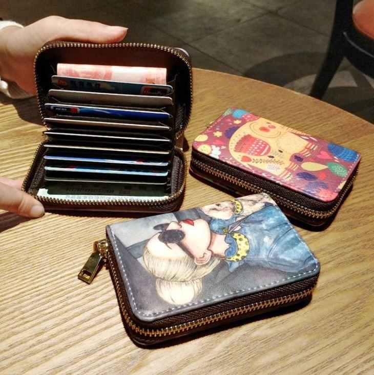 카드 수납 미니 지갑