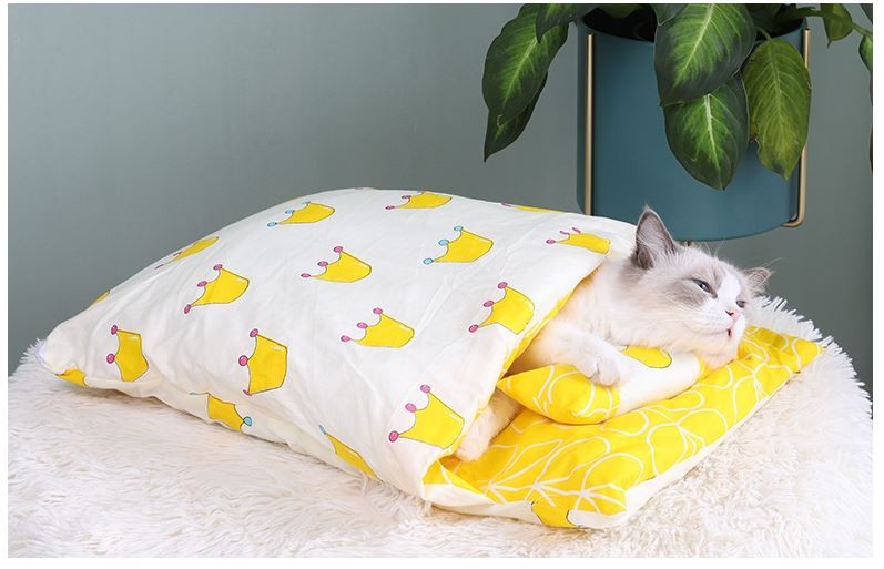 고양이 침구세트