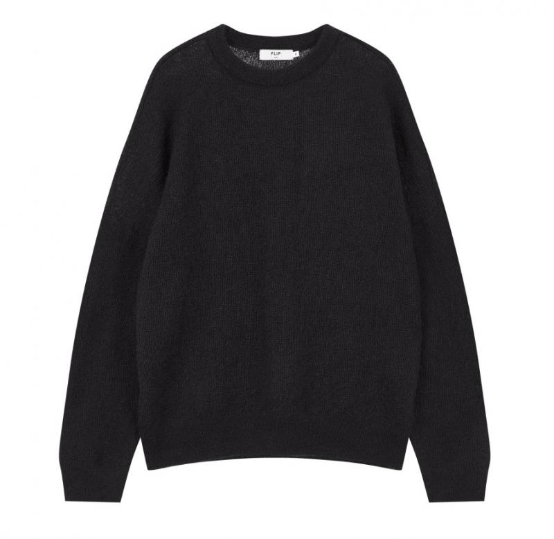 브랜드 남성 모헤어 오버핏 스웨터