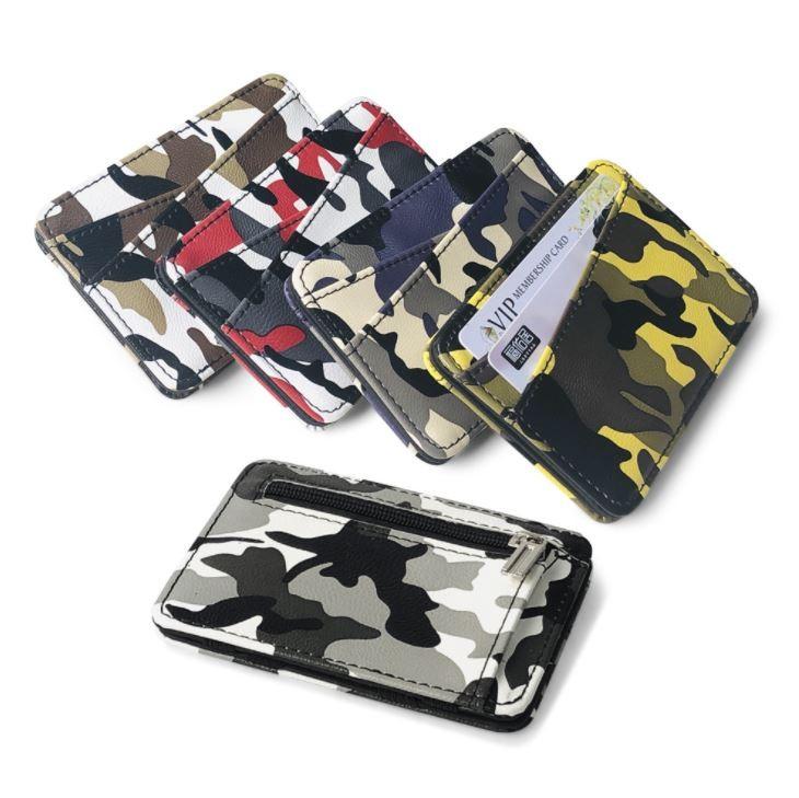 밀리터리 양면 매직 지갑