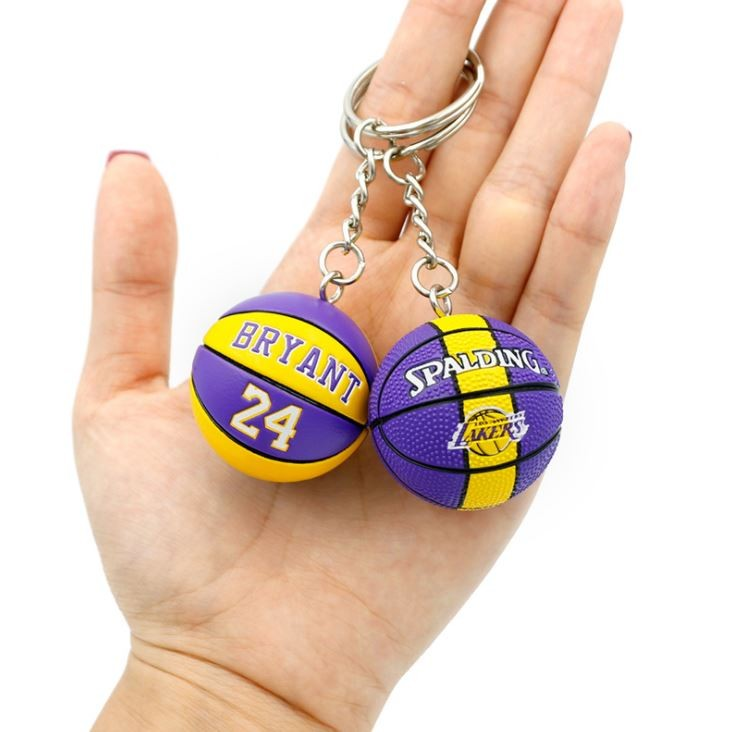 NBA 농구공 열쇠고리