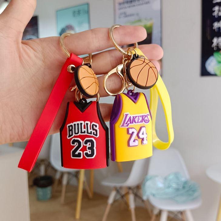 NBA 유니폼 열쇠고리 펜던트