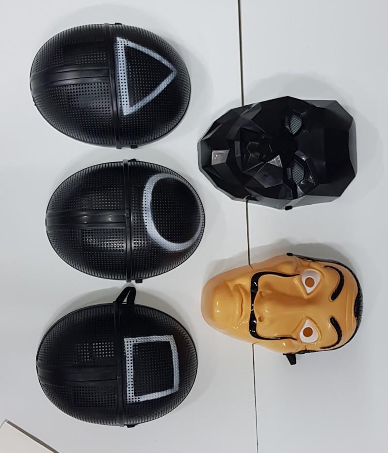 오징어게임 가면 마스크 의상 점프슈트 진행요원 프론트맨 종이의집 할로윈파티 할로윈의상 코스튬