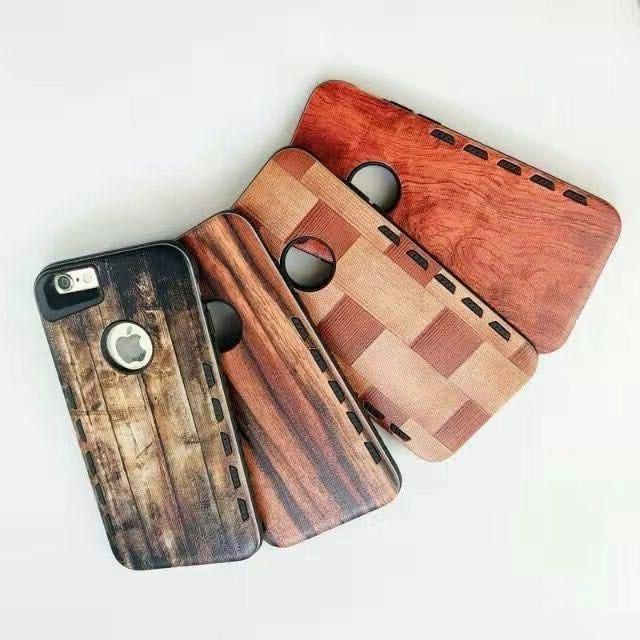 [휴대폰케이스]나무질감의 핸드폰케이스입니다