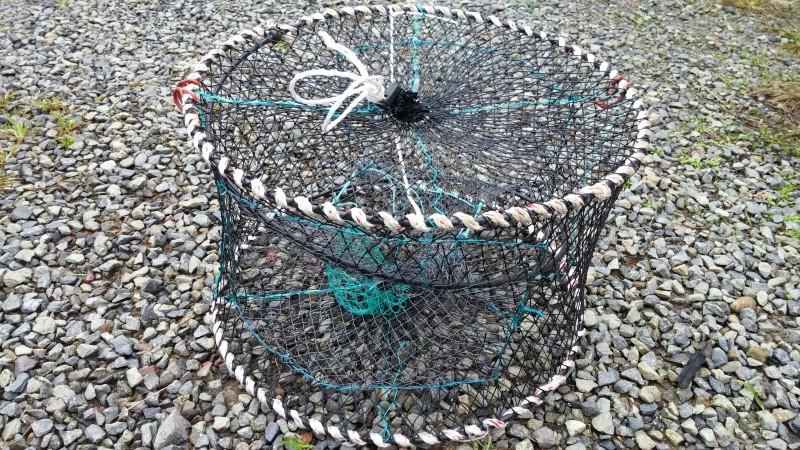 잡어통발 어부용 2구자동스프링