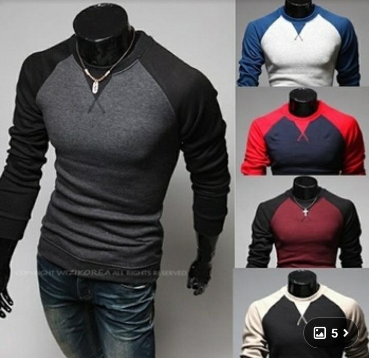 브이넥 야구 티셔츠