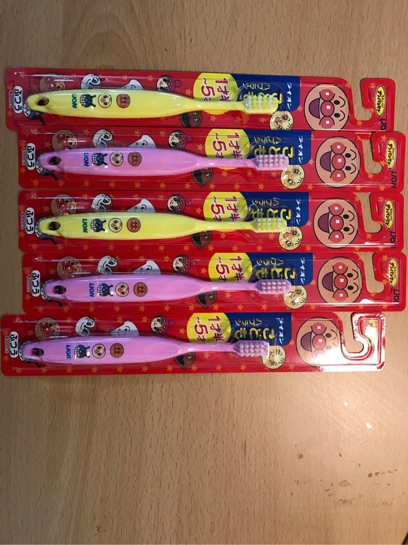 일본 라이온 칫솔 아동용 1-5 세