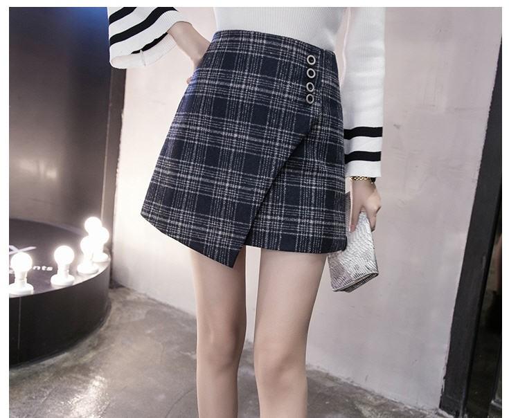 [CESS]여성용 체크무늬 스커트 # KK070