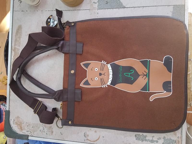 크로스 노트북가방