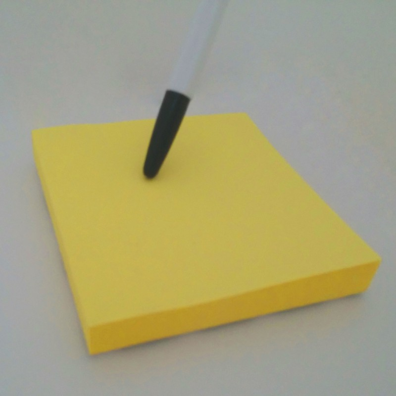 포스트잇/임시 접착식 메모지/간편메모지 100매입