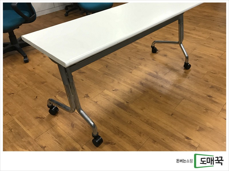 복이 굴러들어오는 세미나용 테이블 팝니다.(150cm)