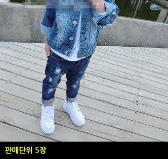 [코리아트레이드]아동 청바지 A06K21034
