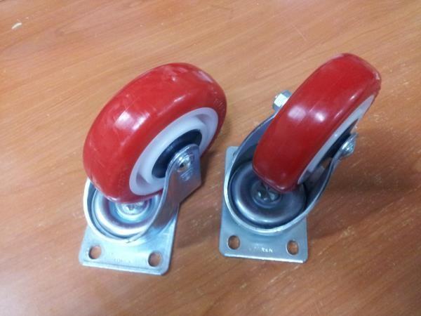우레탄바퀴/360도 회전바퀴/캐스터바퀴
