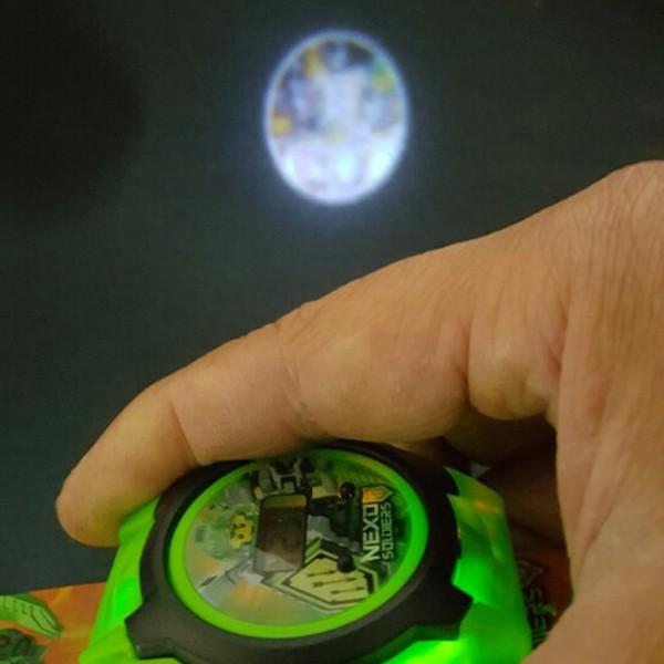 넥소 환등기 전자시계