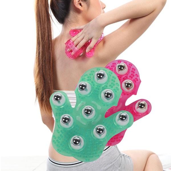 구슬 마사지/안마 장갑/목 어깨 다리 등 근육 안마