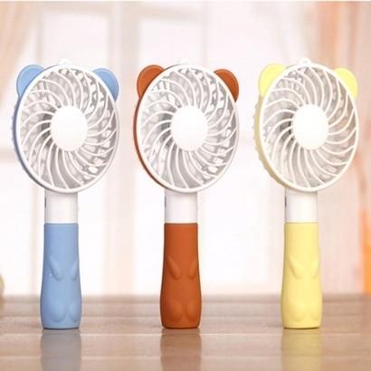 토네이도 휴대용 곰돌이 핸디형 선풍기 (색상/램덤)