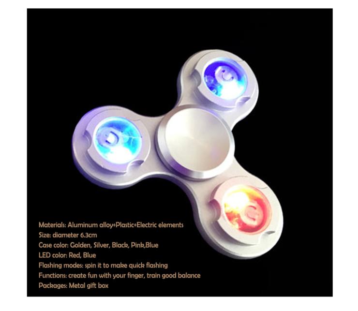 LED 피젯스피너