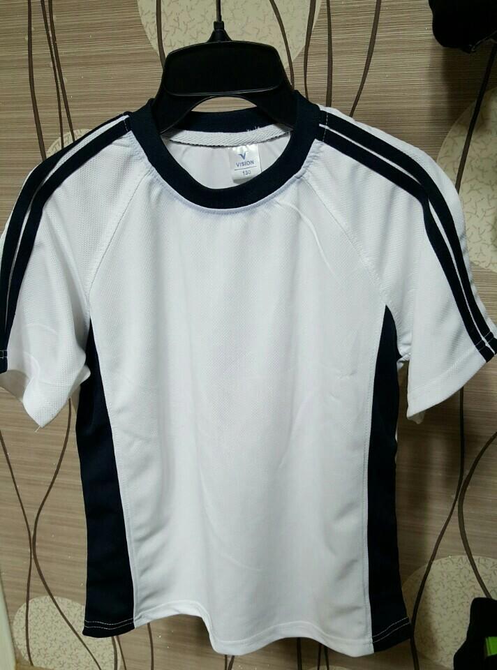 단체복으로 가능한 백색무지 티셔츠