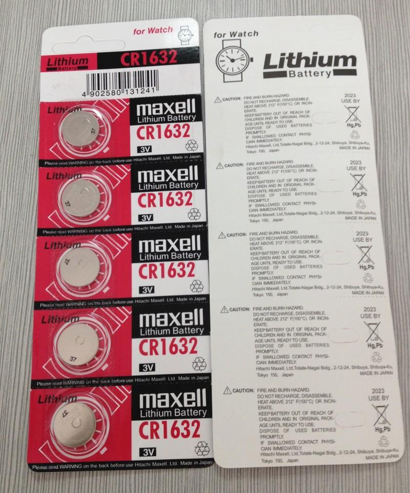 [맥셀] CR1632 리튬 코인 배터리 (코인셀)