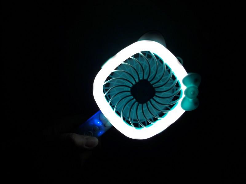 LED 휴대용선풍기 (KC인증완료)