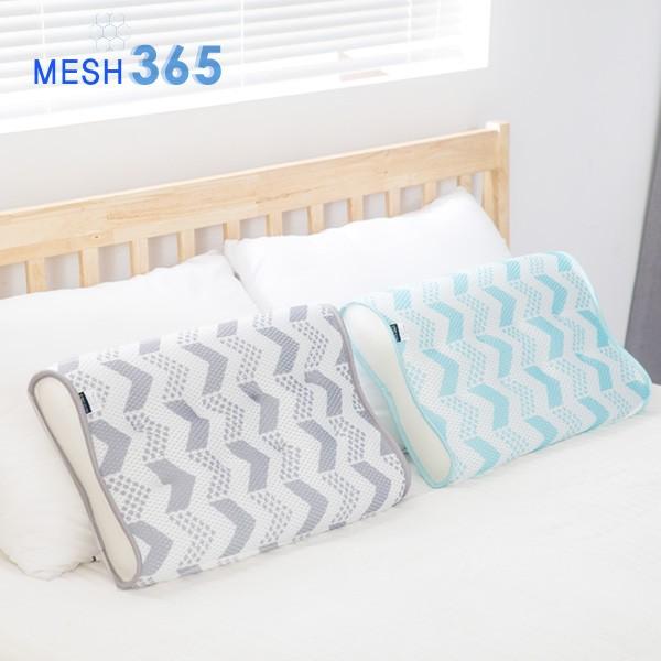 [선물박스패키지] 3D메쉬 빨아쓰는 경추 베개