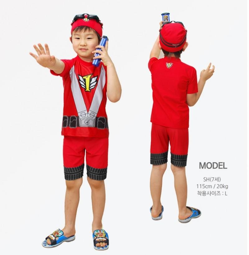 파워레인저 아동 수영복 원가이하 처분합니다! 3종세트 5~6천원