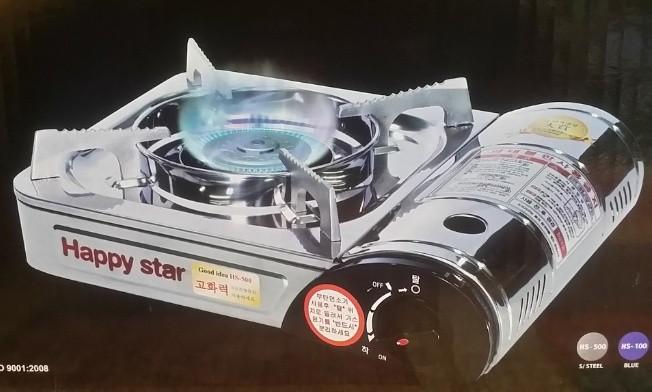 한미그린산업/해피스타 원터치 가스렌지(1입) 한박스6개입