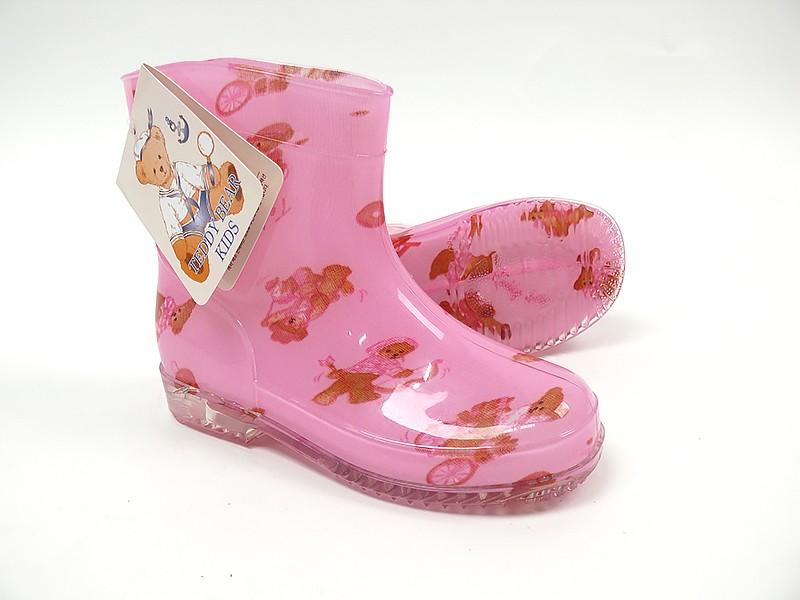 테디베어 장화 아동 장마철 신발 테디베어 캐릭터 어린이 장화