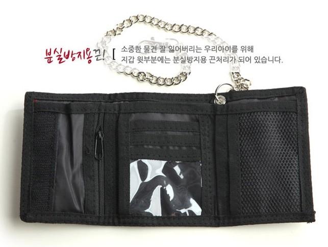 남아 캐릭터 지갑 어벤져스 스파이더맨 카스 패브릭 지갑 분실방지 2000~