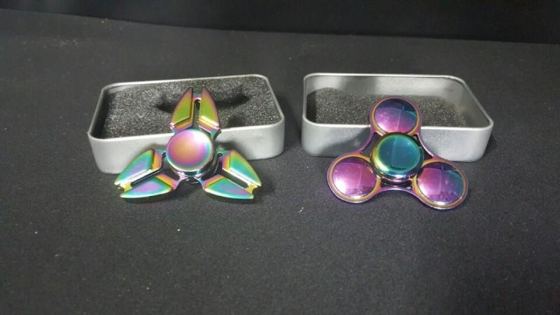 레인보우 메탈 스피너 - 원가이하 판매