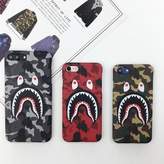 아이폰7 베이프 샤크 핸드폰 케이스 BAPE SHARK FACE