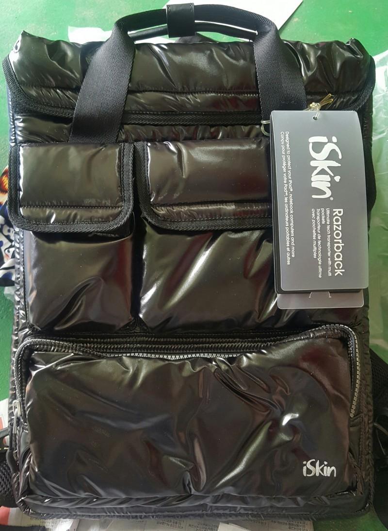 iSkin 백빽, 가방, 카메라 및 노트북 파우치