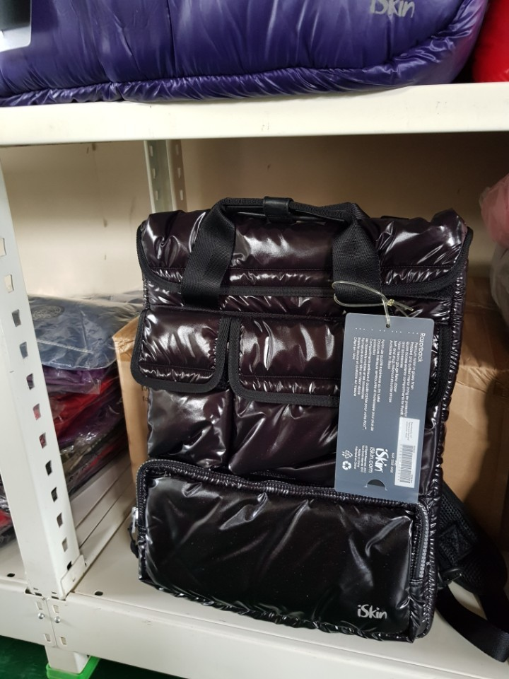 iSkin 카메라, 노트북, 화장품 파우치 및 가방