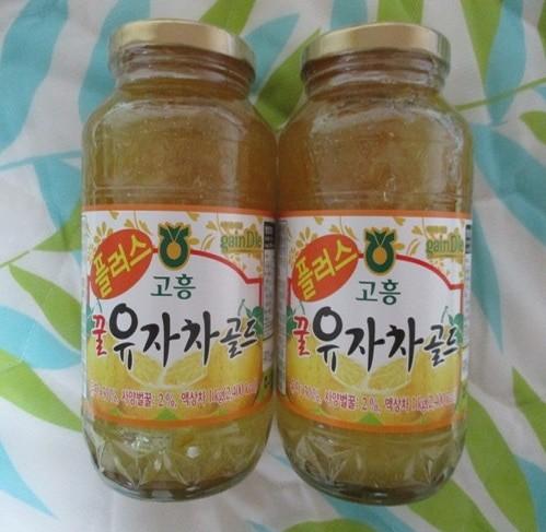 고흥플러스유자차2p세트(2kg)