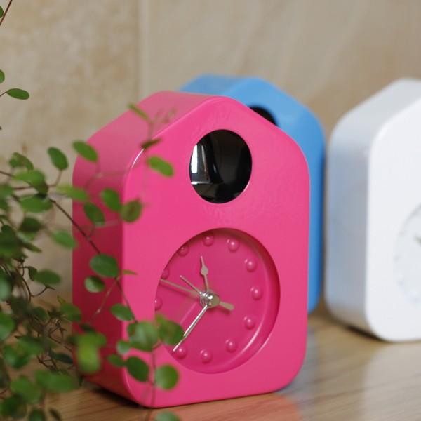 퀄리티 좋은 고급 무소음 자명종 알람시계 탁상시계