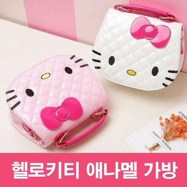 [새제품] 헬로키티 여아 미니 애나멜 가방/크로스백