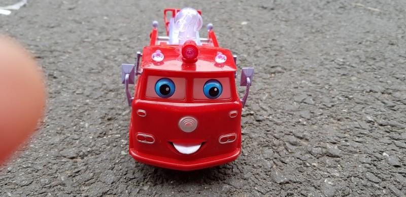 led 싸이렌 움직이는 소방차 장난감 작동완구 어린이선물 타요 뽀로로 터닝메카드