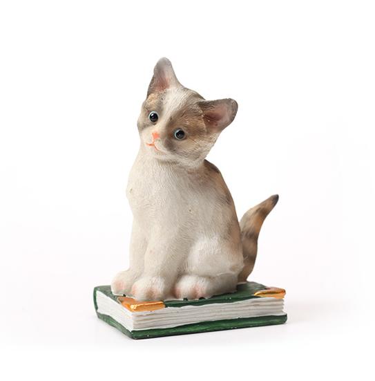디테일한 퀄리티 고양이 오너먼트 장식품