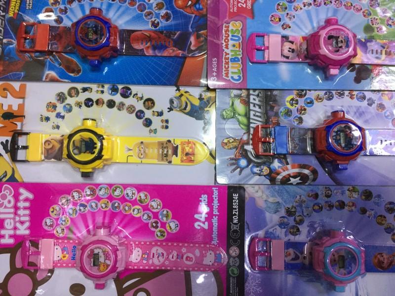 캐릭터 빔 시계(10개 캐릭터종류)
