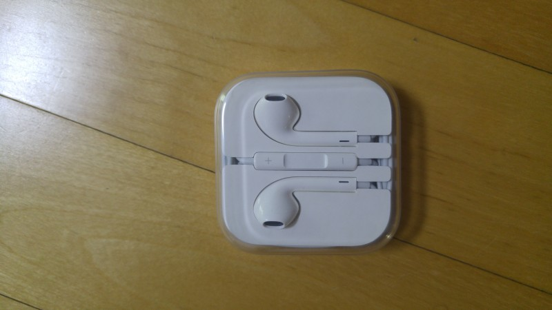 애플 정품 이어팟