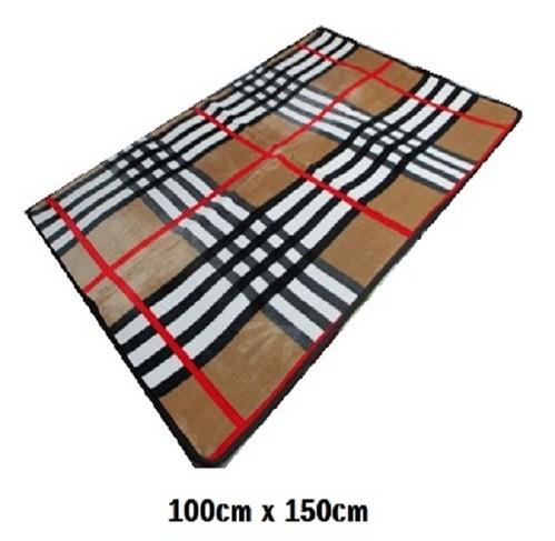 버버리스타일카페트(100cm x150cm)