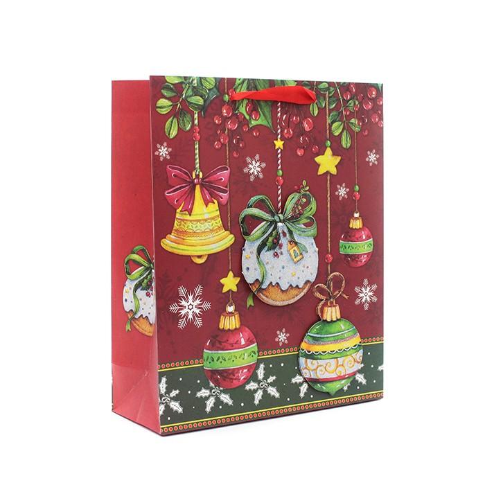 크리스마스, 성탄절 입체 쇼핑백