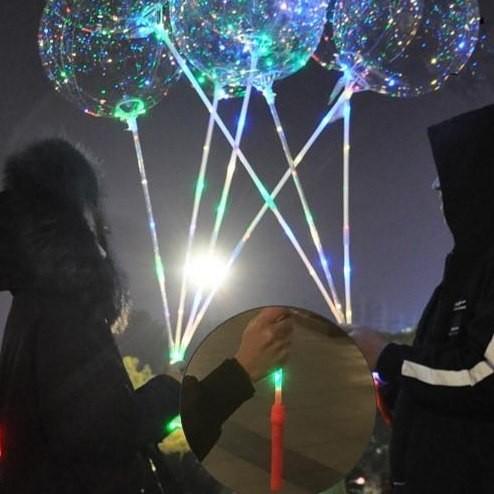 버튼손잡이 DIY led풍선 파티풍선 축제 조명 풍선 헬륨 반딧불 조명