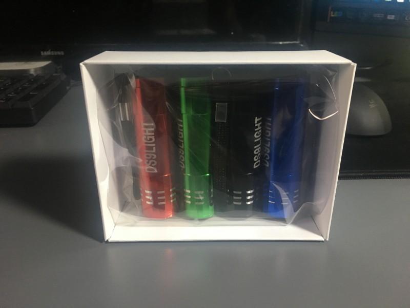4색 9 LED 미니 플래쉬 라이트/후레쉬 포장된 상태로 저렴한 가격에 판매합니다./ 타 도매사이트보다 저렴