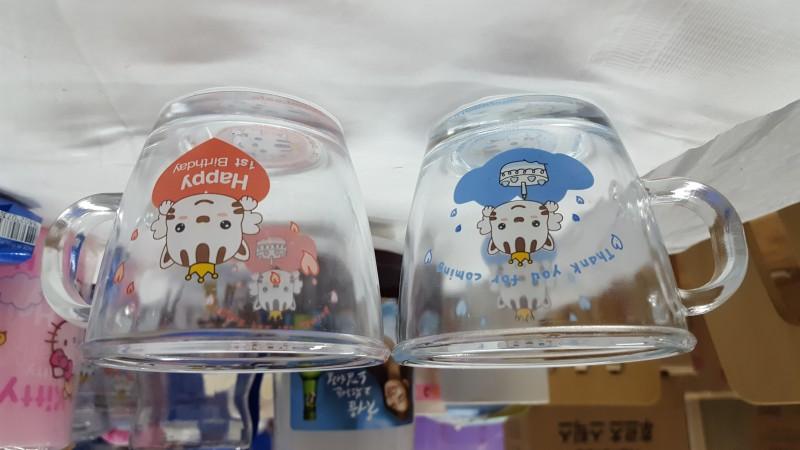 캐릭터물컵