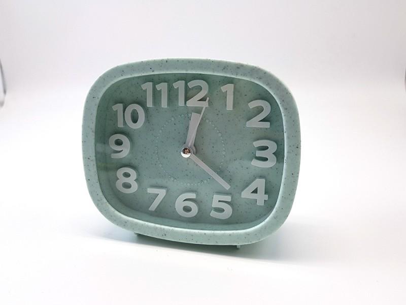 파스텔 사각 알람시계