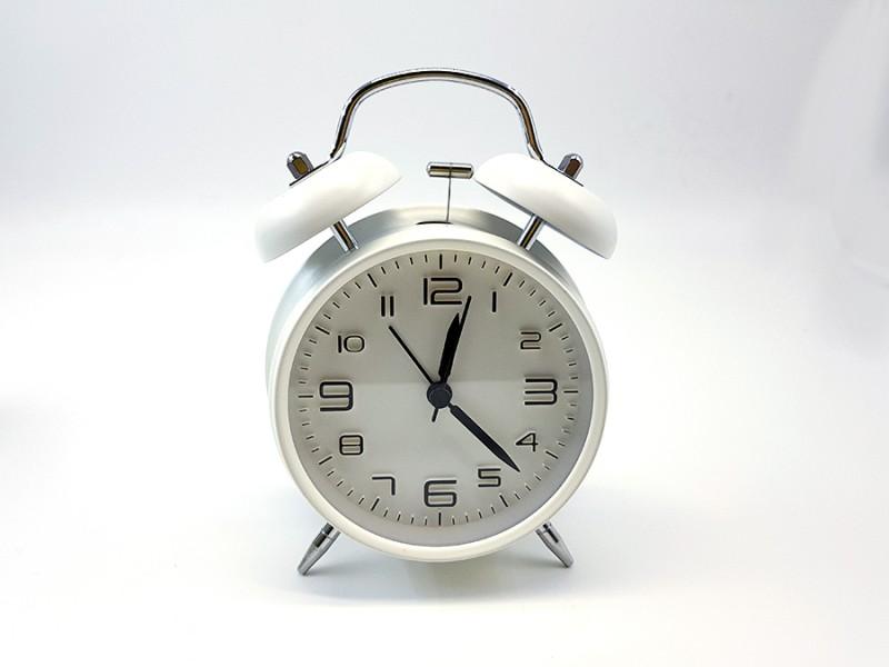 4칼러 해머 탁상시계